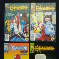Cómics: COMIC FORUM EXCALIBUR, N°1-2-3-4 1988. Lote 223989080