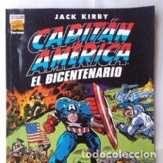 Cómics: JACK KIRBY- CAPITÁN AMÉRICA- EL BICENTENARIO-AÑO 2000-EDICIÓN GIGANTE 34X23 CM. Lote 223990525