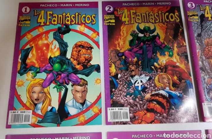 Cómics: LOS 4 FANTÁSTICOS Vol. 4 (2001 - 2003) / DEL 1 AL 10 DE 24 - Foto 2 - 224001860