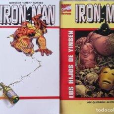 Cómics: IRON MAN EL HOMBR DE LA MASCARA DE HIERRO Y LOS HIJOS DE YINSEN. Lote 224102116