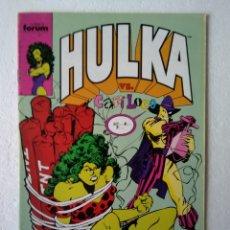 Comics: HULKA N° 9. Lote 224190338