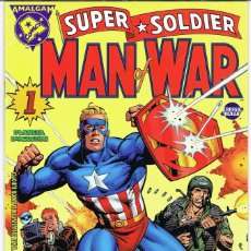 Comics : SUPER SOLDIER MAN OF WAR POR MARK WAID Y DAVE GIBBONS. COLECCION AMALGAM Nº 24 (ULTIMO DE LA COLECCI. Lote 224194181