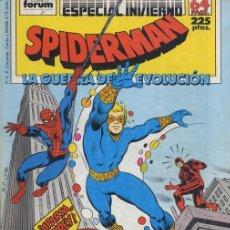 Cómics: SPIDERMAN: ESPECIAL INVIERNO 88 - FORUM. Lote 293563113