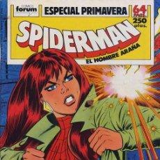 Cómics: SPIDERMAN: ESPECIAL PRIMAVERA 89 - FORUM. Lote 224204161