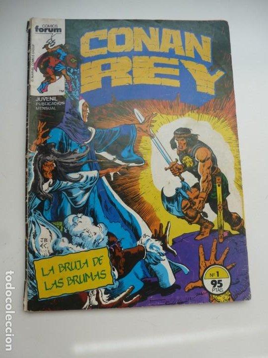 CONAN REY Nº 1. COMICS FORUM (Tebeos y Comics - Forum - Conan)