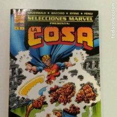 Cómics: SELECCIONES MARVEL Nº 1. LA COSA: EL PROYECTO PEGASO. FORUM. (FOTOS ADICIONALES). Lote 172962909