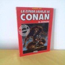 Comics: LA ESPADA SALVAJE DE CONAN EL BARBARO TOMO 30 - EDICION COLECCIONISTA - 2ª EDICION 2001. Lote 224375937