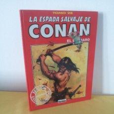 Comics: LA ESPADA SALVAJE DE CONAN EL BARBARO TOMO 28 - EDICION COLECCIONISTA - 2ª EDICION 2000. Lote 224377182