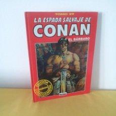 Comics: LA ESPADA SALVAJE DE CONAN EL BARBARO TOMO 29 - EDICION COLECCIONISTA - 2ª EDICION 2001. Lote 224377406