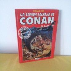 Comics: LA ESPADA SALVAJE DE CONAN EL BARBARO TOMO 26 - EDICION COLECCIONISTA - 2ª EDICION 2000. Lote 224379737