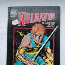 Comics : KILLRAVEN - EL GUERRERO DE LOS MUNDOS DON MCGREGOR CRAIG RUSSEL NOVELAS GRAFICAS MARVEL FORUM TDK576. Lote 224486056