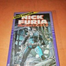 Cómics: NICK FURIA. CONTRA S.H.I.E.L.D. OBRA COMPLETA DE 9 NUMEROS. FORUM.. Lote 224498440