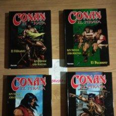 Comics: CONAN EL PIRATA, FORUM, COMPLETA CUATRO TOMOS. Lote 224548036