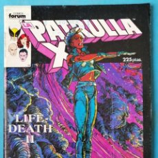 Cómics: PATRULLA X - ESPECIAL PRIMAVERA - FORUM 1987. Lote 224554925