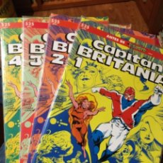 Cómics: CAPITÁN BRITANIA - COLECCIÓN PRESTIGIO - 4 TOMOS - COMPLETA - FORUM. Lote 224592042