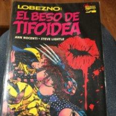 Cómics: LOBEZNO - EL BESO DE TIFOIDEA - PRESTIGIO - FORUM. Lote 224593511