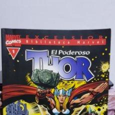 Cómics: BIBLIOTECA MARVEL - THOR EL TODOPODEROSO N°1. Lote 224722548