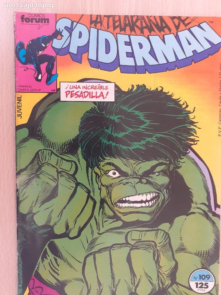 SPIDERMAN Nº 109. FORUM 1986 (Tebeos y Comics - Forum - Spiderman)