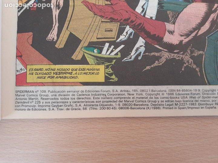 Cómics: Spiderman Nº 109. Forum 1986 - Foto 4 - 224746788