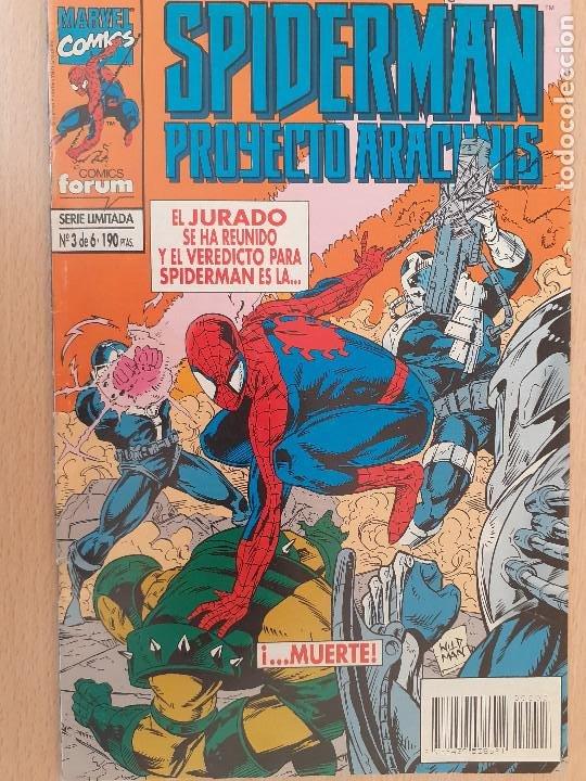 SPIDERMAN PROYECTO ARACHNIS Nº 3. FORUM 1995 (Tebeos y Comics - Forum - Spiderman)