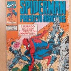 Cómics: SPIDERMAN PROYECTO ARACHNIS Nº 3. FORUM 1995. Lote 224747817
