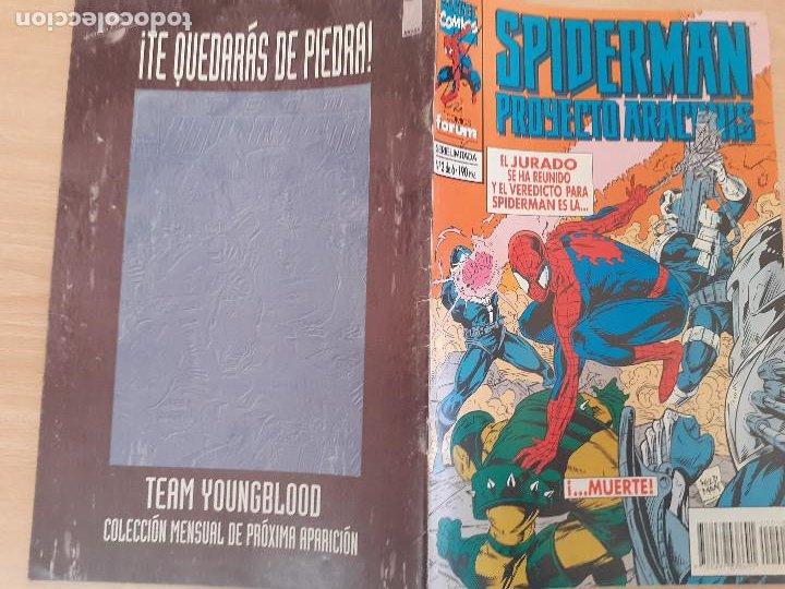 Cómics: Spiderman Proyecto Arachnis Nº 3. Forum 1995 - Foto 2 - 224747817