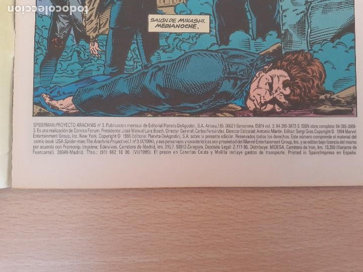 Cómics: Spiderman Proyecto Arachnis Nº 3. Forum 1995 - Foto 3 - 224747817
