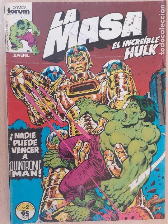 LA MASA Nº 2. FORUM 1983 (Tebeos y Comics - Forum - Hulk)