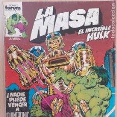 Cómics: LA MASA Nº 2. FORUM 1983. Lote 224748031