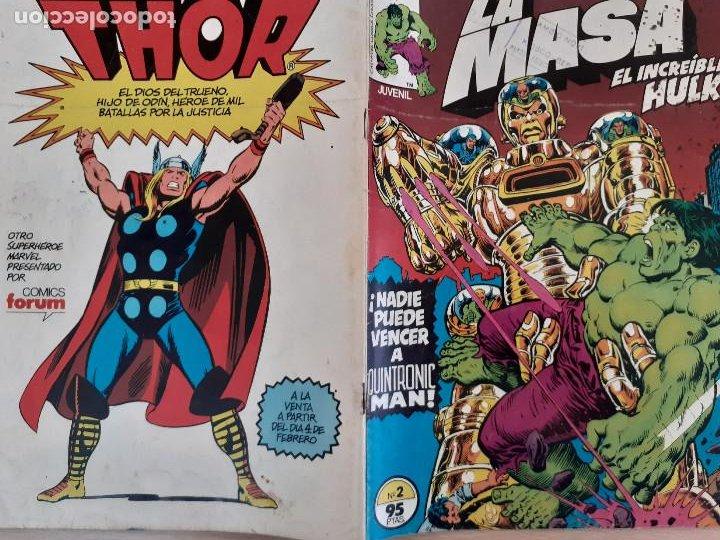 Cómics: La Masa Nº 2. Forum 1983 - Foto 2 - 224748031