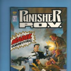 Cómics: PUNISHER P.O.V. - 4 TOMOS PRESTIGE - STARLIN, WRIGHTSON Y WRAY. Lote 224816536
