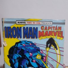 Cómics: IRON MAN- CAPITÁN MARVEL N° 44 COMICS FORUM 1985. Lote 224873021