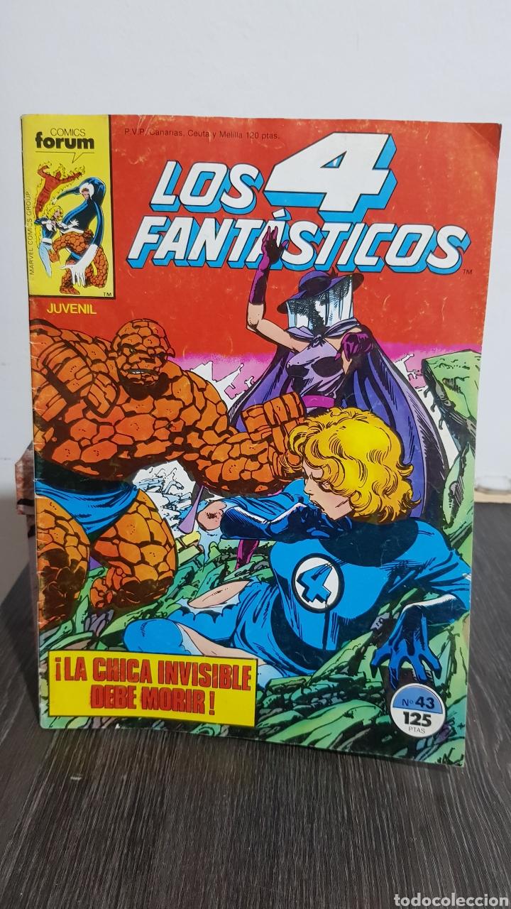 LOS 4 FANTÁSTICOS N° 43 COMICS FORUM (Tebeos y Comics - Forum - 4 Fantásticos)