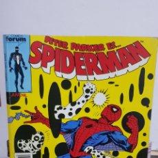Cómics: SPIDERMAN 5 NÚMEROS DEL 126 AL 130 COMICS FORUM 1987. Lote 224874078