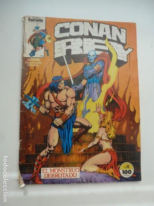 CONAN REY Nº 11. COMICS FORUM (Tebeos y Comics - Forum - Conan)