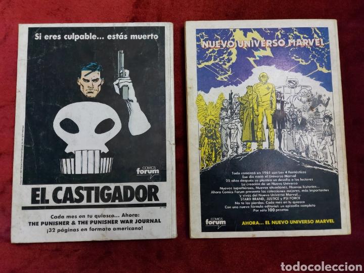 Cómics: COMIC RETAPADO LOS NUEVOS MUTANTES/SUPER HEROES COMICS FORUM JUVENIL (2 TOMOS) - Foto 2 - 224961575