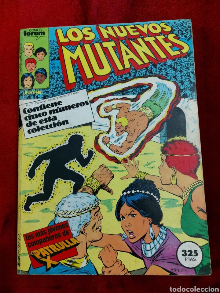 Cómics: COMIC RETAPADO LOS NUEVOS MUTANTES/SUPER HEROES COMICS FORUM JUVENIL (2 TOMOS) - Foto 5 - 224961575