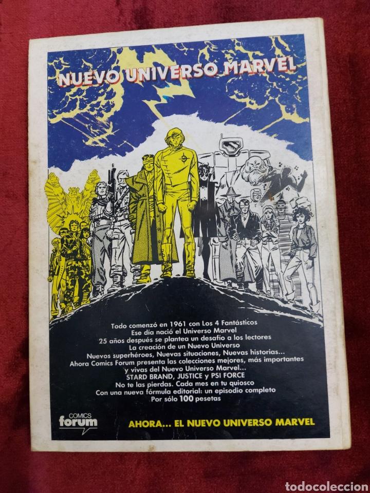Cómics: COMIC RETAPADO LOS NUEVOS MUTANTES/SUPER HEROES COMICS FORUM JUVENIL (2 TOMOS) - Foto 6 - 224961575