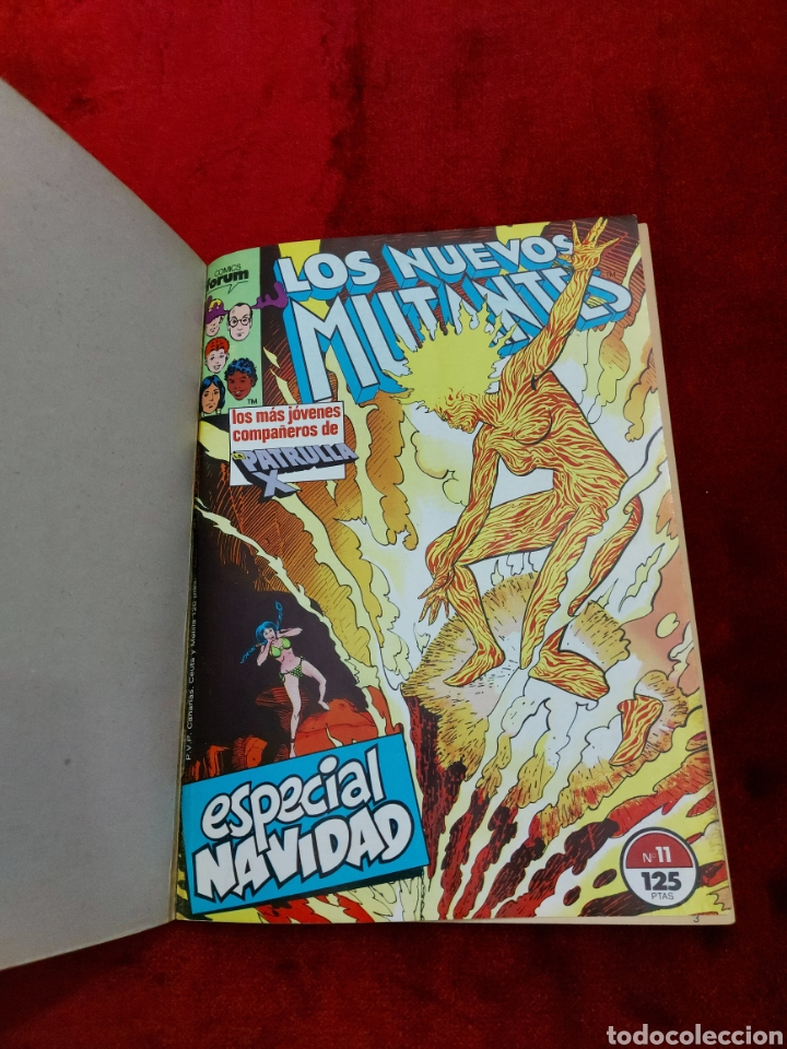 Cómics: COMIC RETAPADO LOS NUEVOS MUTANTES/SUPER HEROES COMICS FORUM JUVENIL (2 TOMOS) - Foto 7 - 224961575