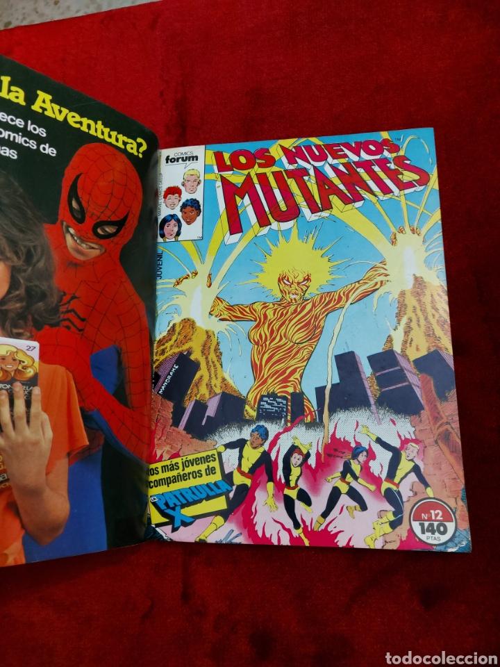 Cómics: COMIC RETAPADO LOS NUEVOS MUTANTES/SUPER HEROES COMICS FORUM JUVENIL (2 TOMOS) - Foto 10 - 224961575
