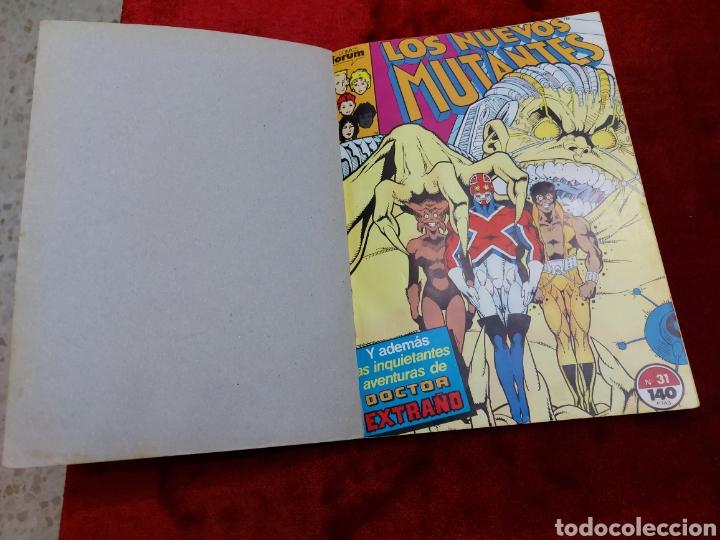 Cómics: COMIC RETAPADO LOS NUEVOS MUTANTES/SUPER HEROES COMICS FORUM JUVENIL (2 TOMOS) - Foto 15 - 224961575