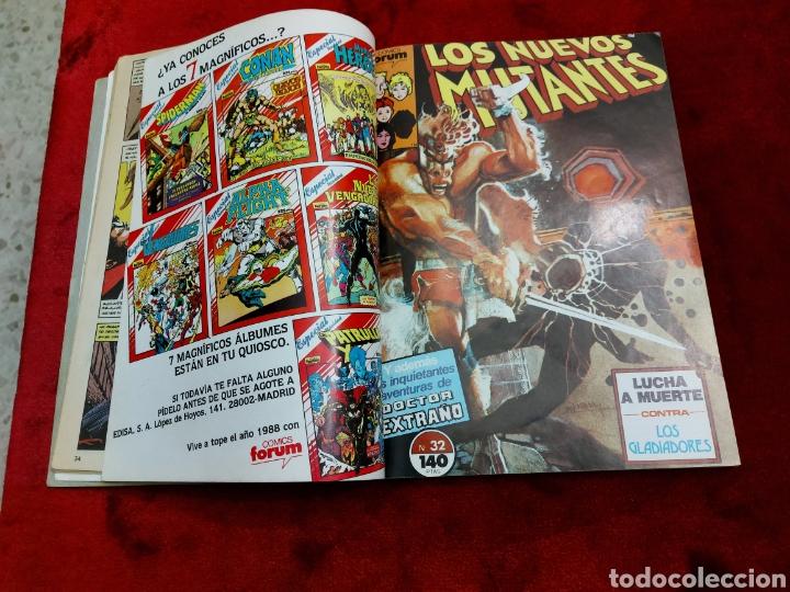 Cómics: COMIC RETAPADO LOS NUEVOS MUTANTES/SUPER HEROES COMICS FORUM JUVENIL (2 TOMOS) - Foto 16 - 224961575
