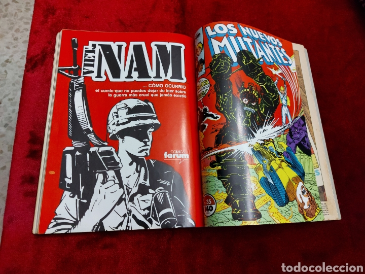 Cómics: COMIC RETAPADO LOS NUEVOS MUTANTES/SUPER HEROES COMICS FORUM JUVENIL (2 TOMOS) - Foto 19 - 224961575