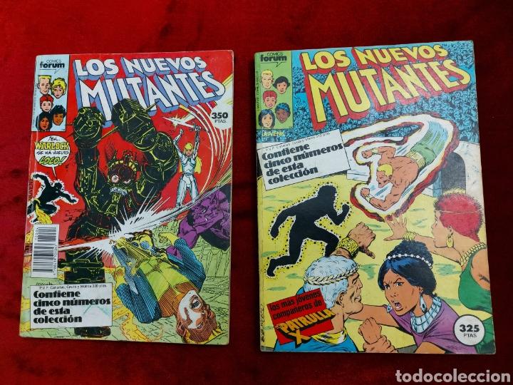 COMIC RETAPADO LOS NUEVOS MUTANTES/SUPER HEROES COMICS FORUM JUVENIL (2 TOMOS) (Tebeos y Comics - Forum - Nuevos Mutantes)
