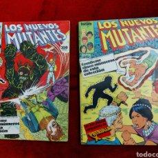 Cómics: COMIC RETAPADO LOS NUEVOS MUTANTES/SUPER HEROES COMICS FORUM JUVENIL (2 TOMOS). Lote 224961575
