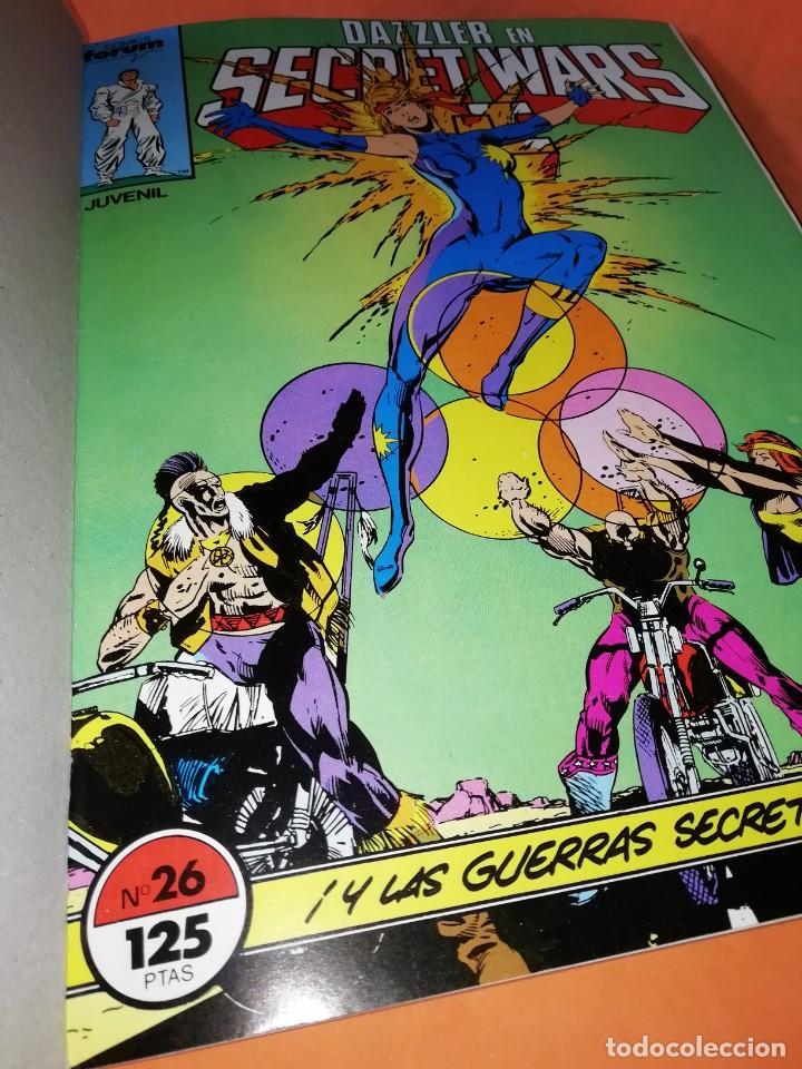 Cómics: SECRET WARS. RETAPADO Nº 26 AL 30. 1ª EDICION. FORUM 1986 - Foto 5 - 224966577