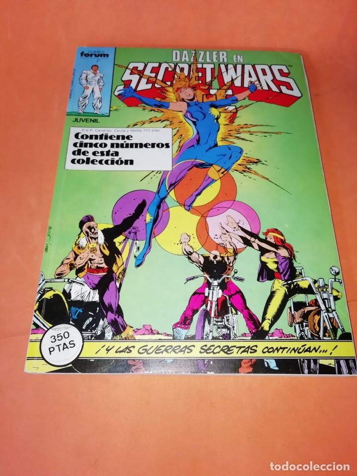 SECRET WARS. RETAPADO Nº 26 AL 30. 1ª EDICION. FORUM 1986 (Tebeos y Comics - Forum - Otros Forum)