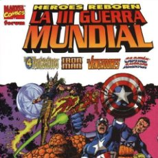 Cómics: HEROES REBORN: LA III GUERRA MUNDIAL - TOMO FORUM.. Lote 253482060