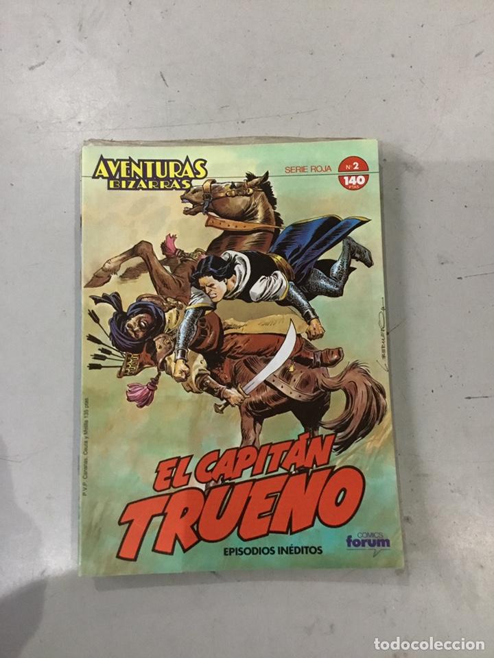 Cómics: AVENTURAS BIZARRAS EL CAPITAN TRUENO. COLECCION COMPLETA DE 10 - Foto 4 - 243943160