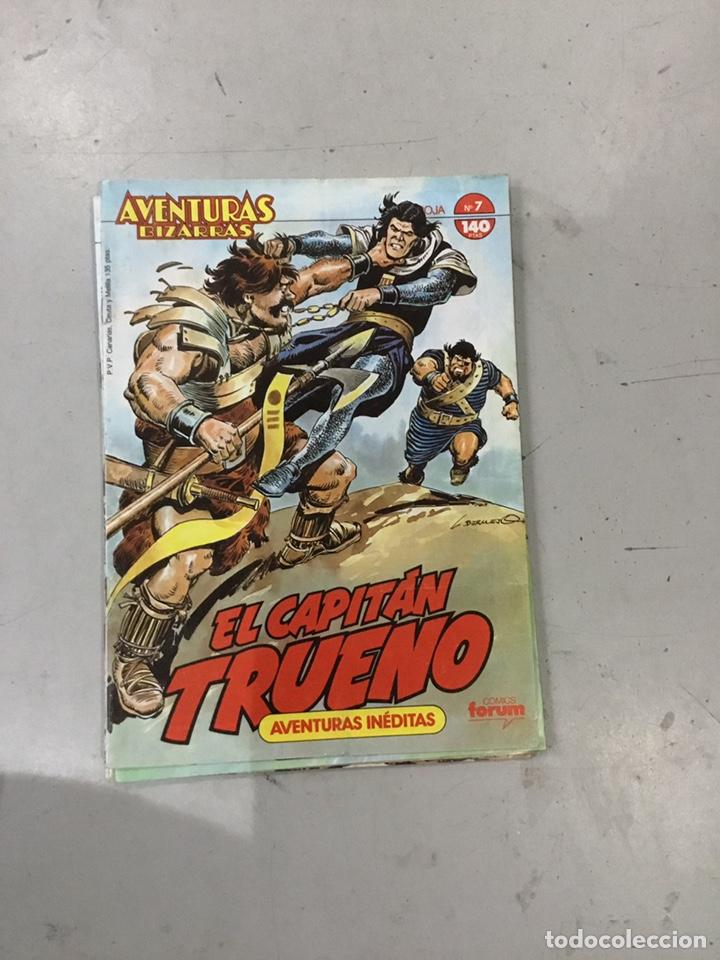 Cómics: AVENTURAS BIZARRAS EL CAPITAN TRUENO. COLECCION COMPLETA DE 10 - Foto 10 - 243943160